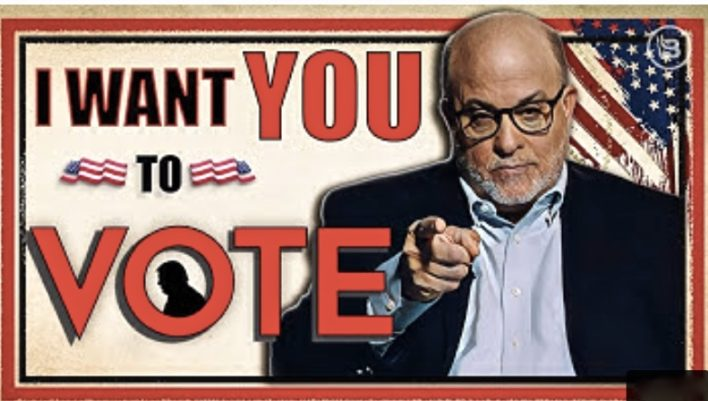 Mark Levin says I want you to vote