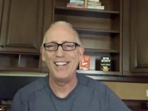 Scott Adams laughs