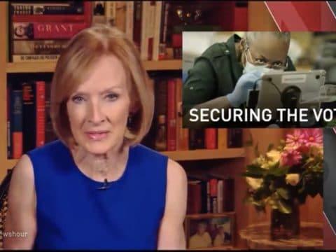 Judy Woodruff PBS Dominion Voting Sytems