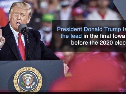 Trump ahead in final Iowa Poll
