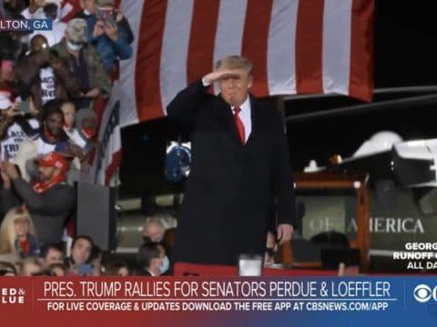 Trump in Georgia: Speaking at Rally for Senators