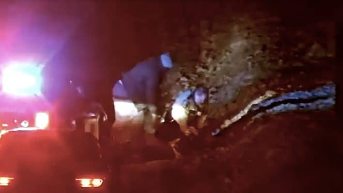 State Trooper assaulted, helped by Good Samaritan