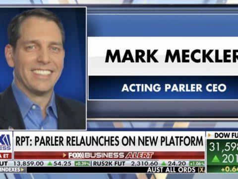 Parler: new CEO Mark Meckler