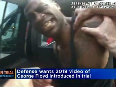George Floyd 2019 arrest video