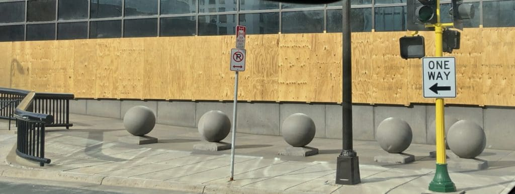 Concrete Balls in Minneapolis