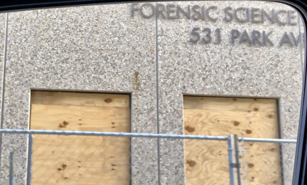 forensic science lab at Minneapolis hospital