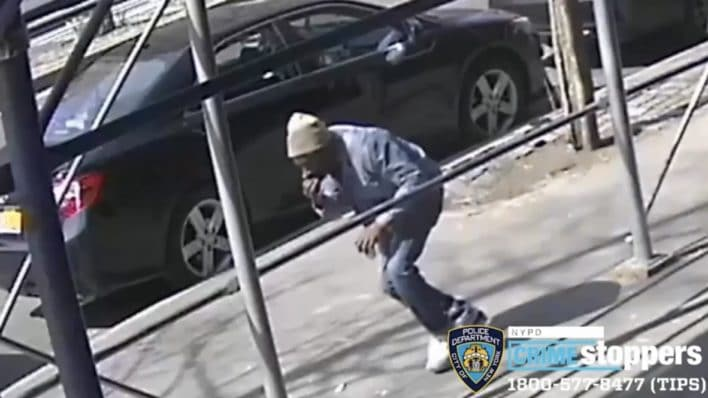 New York woman punched in face